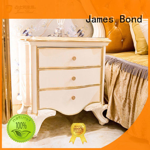 James Bond luxury Classical BedsideTable factory direct supply for home