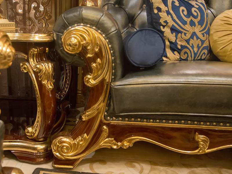 luxury classic leather furniture factory direct supply for church-3