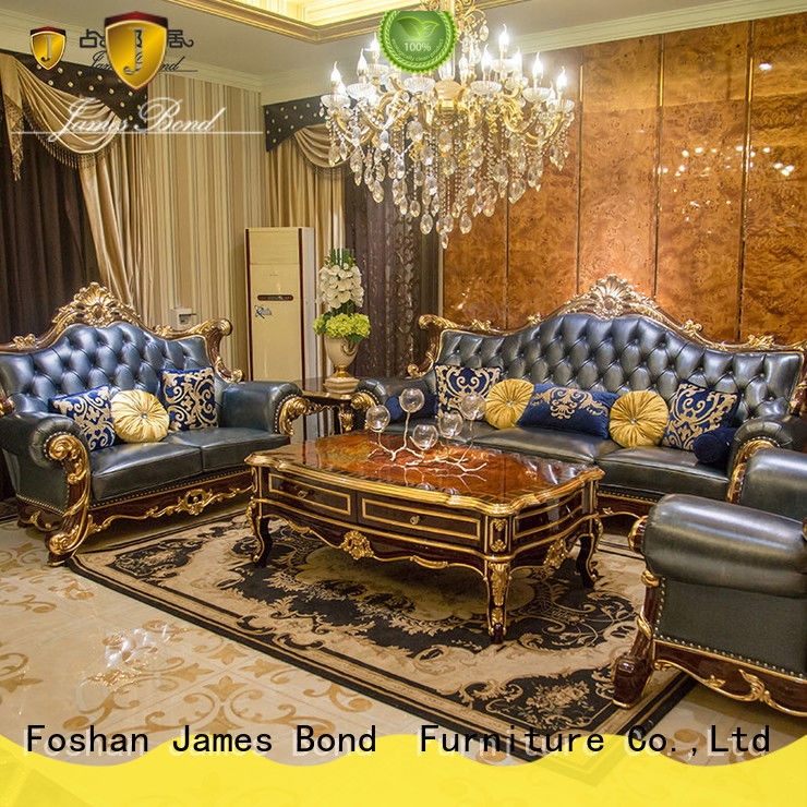 solid wood traditional sofa styles supplier for hotel
