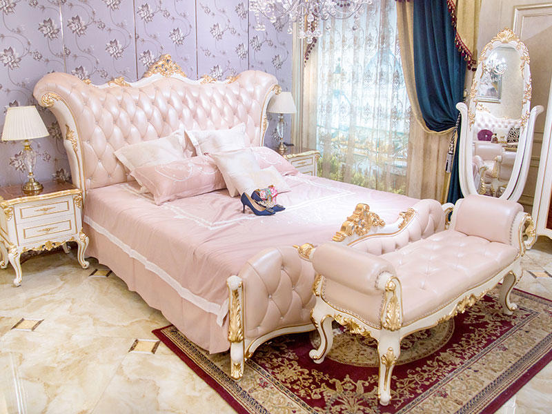 James Bond traditional bedroom furniture from China for villa-1