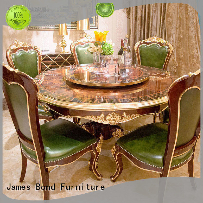 James Bond classic dining furniture factory direct supply for hotel