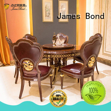 James Bond professional classic dining furniture directly sale for home