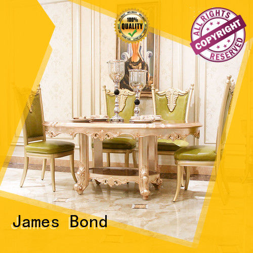 James Bond traditional dining table series for home