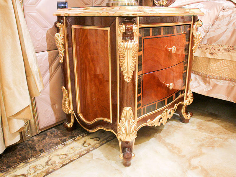 luxury furniture bedside table wholesale for apartment-3