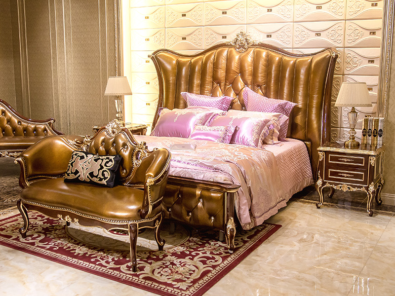 James Bond excellent luxury bedroom sets factory price for hotel-5