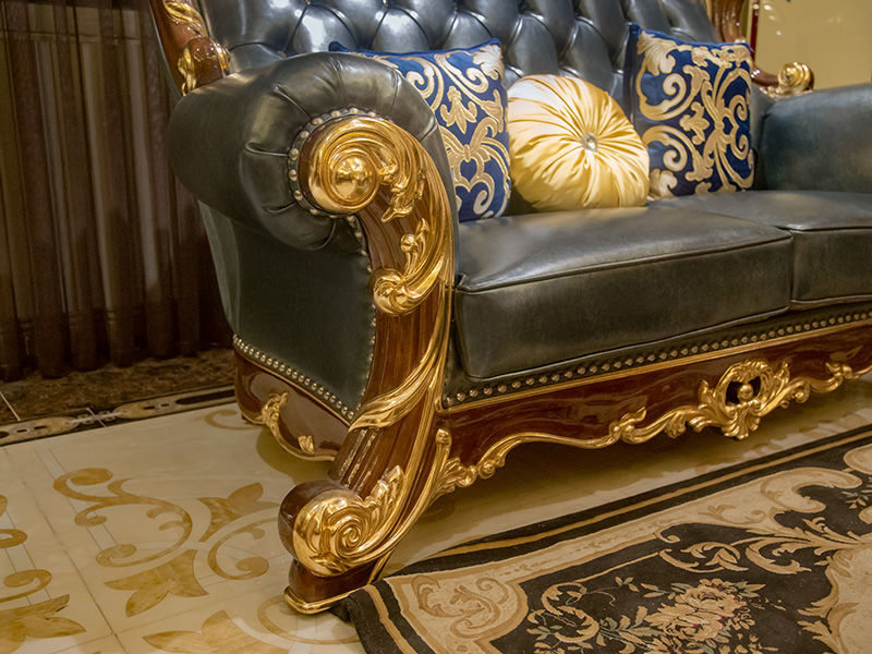 luxury classic leather furniture factory direct supply for church