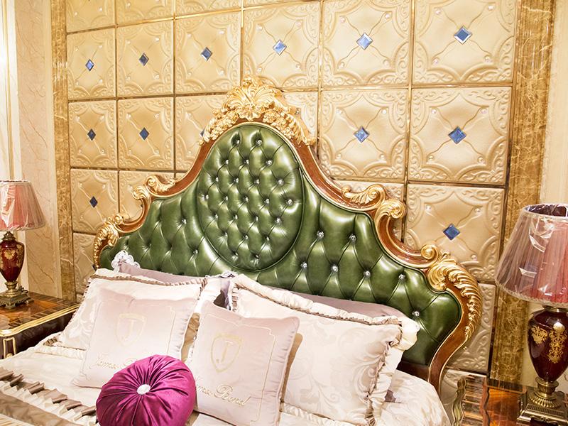 James Bond jp622 european king size bed frame uk supply for hotel-1