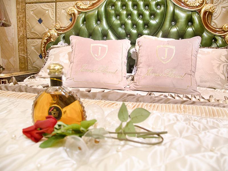 James Bond jp622 european king size bed frame uk supply for hotel-3