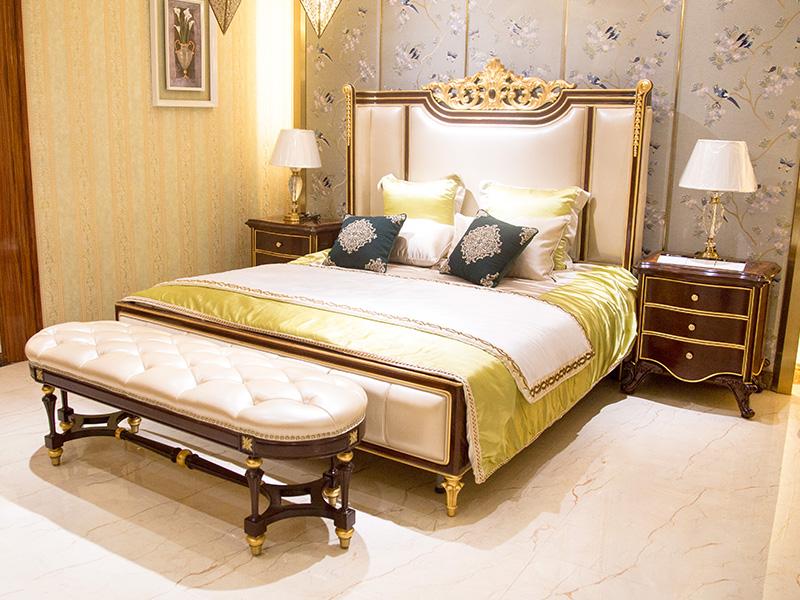 James Bond traditional bedroom sets wholesale for hotel-5