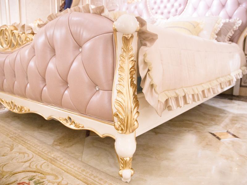 James Bond traditional bedroom furniture wholesale for villa-4