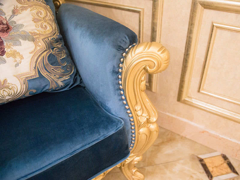 James Bond velvet Classical leisure chair wholesale for home