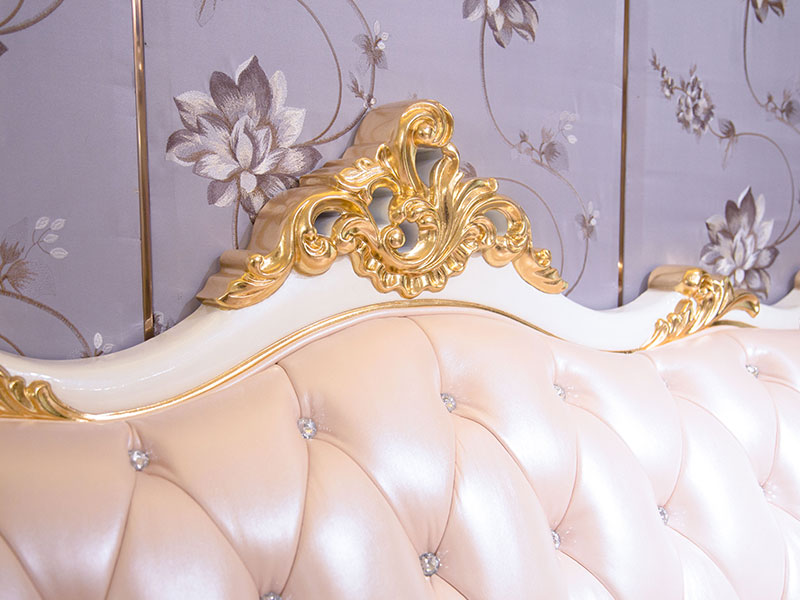 James Bond traditional bedroom furniture from China for villa-4