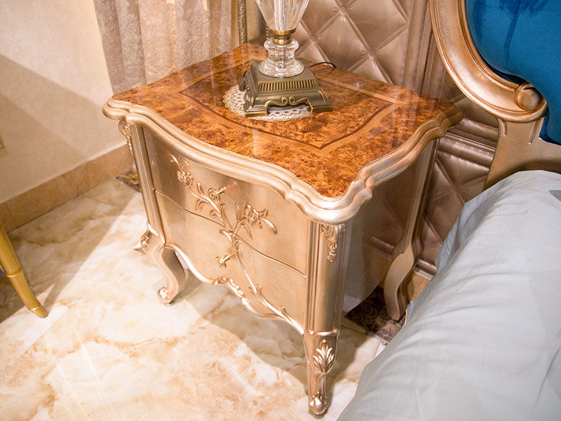 James Bond traditional bedside table factory direct supply for hotel