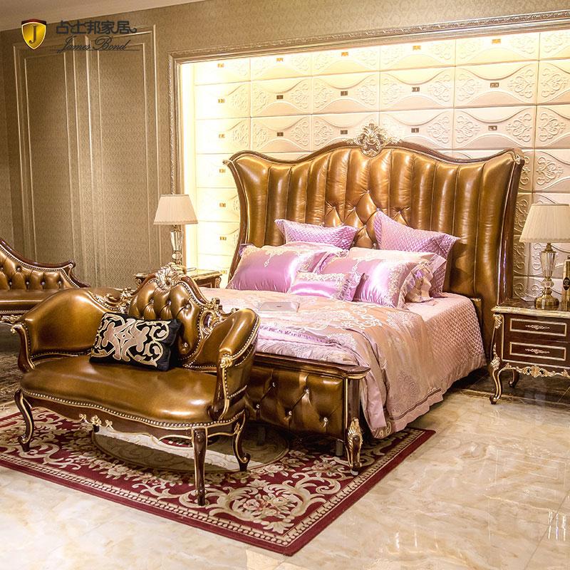 Desain amben James Bond Klasik 14k emas lan kayu padat Cahya coklat JP675