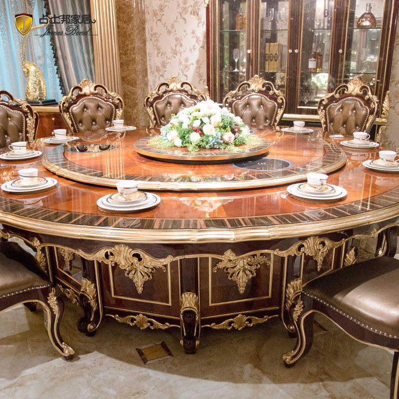Classic Italian Dining Room Table Sets, Luxury Dining Room Furniture Italy