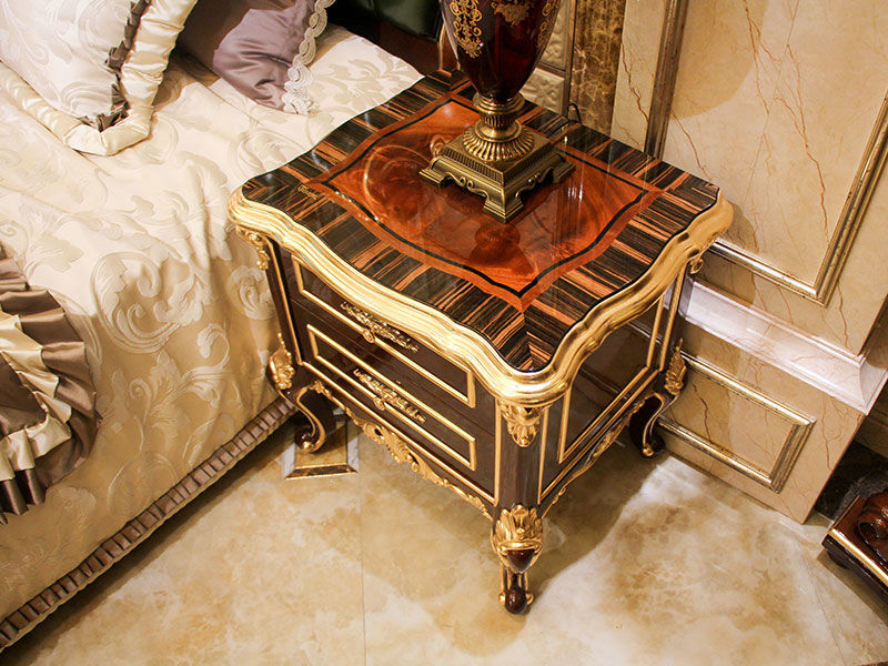 James Bond fashion classic bedside table supplier for villa