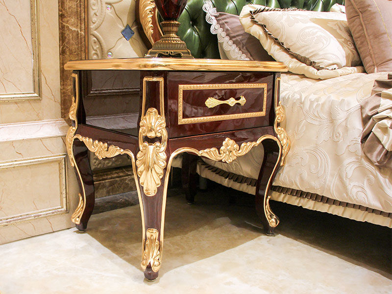 italian traditional bedside table supplier for apartment