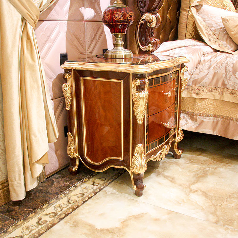 Classic bedside table - classic colors