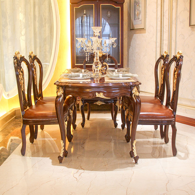 Classic dining furniture-traditional dining table