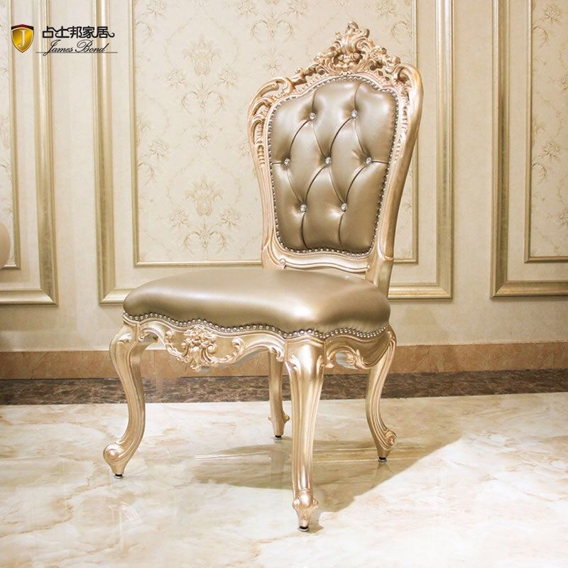 James Bond Classic dining chairs  solid wood champagne JP699