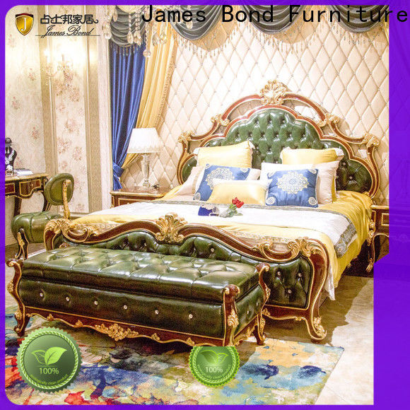 New new style bedroom bed design purple factory for apartment