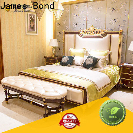 James Bond New luxury bedroom curtains manufacturers for home