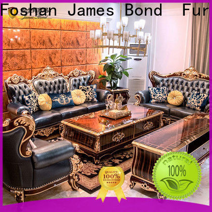 James Bond Custom white traditional sofa company for guest room