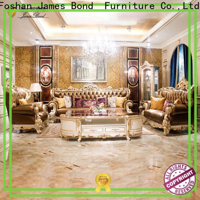 James Bond living white traditional sofa factory for hotel