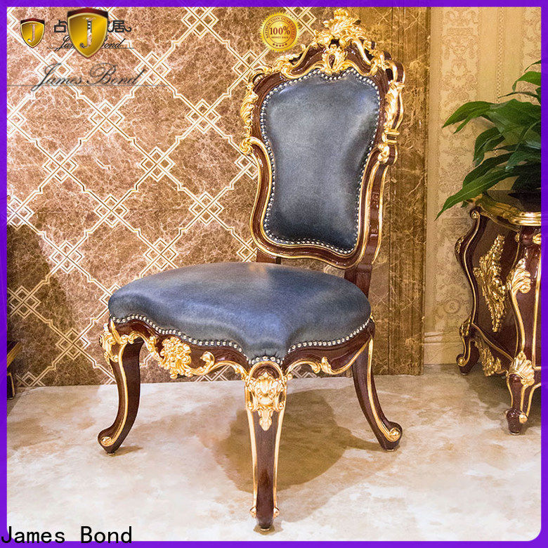 James Bond Custom espresso dining chair suppliers for hotel