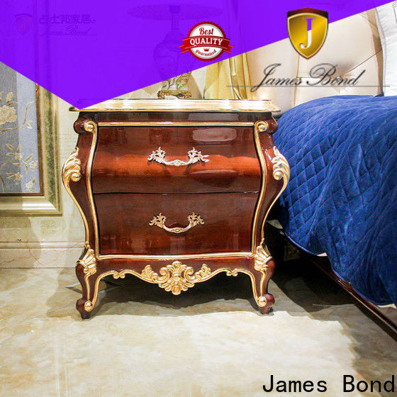 James Bond Latest contemporary oak bedside tables suppliers for hotel