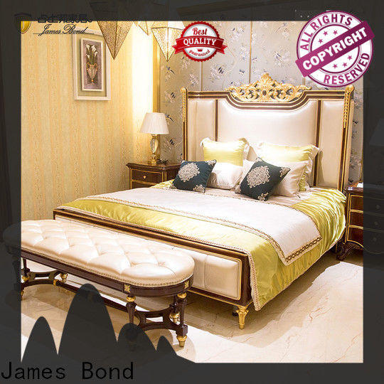High-quality european bed furniture brown for business for home