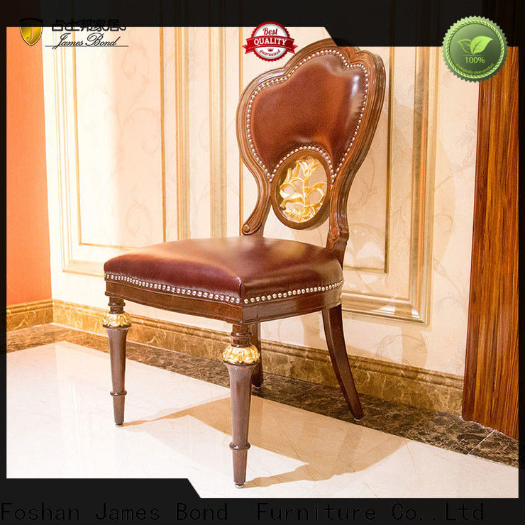 James Bond Custom cappuccino dining chairs manufacturers for restaurant