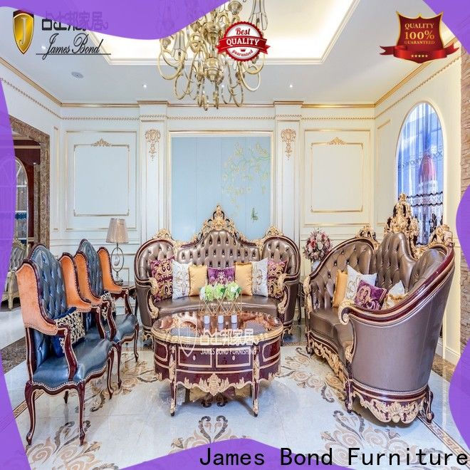 James Bond New traditional country sofas company for restaurant