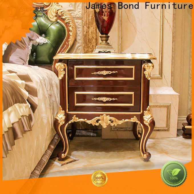 James Bond jp615 modern oak bedside tables for business for apartment