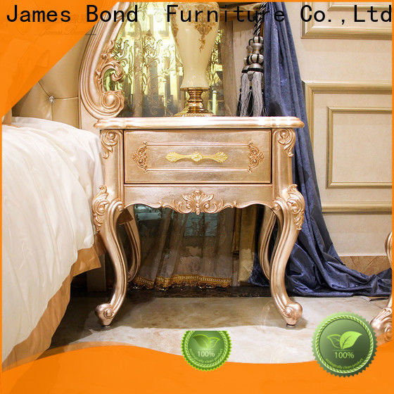 New bedside table with drawers (brown)james for business for hotel