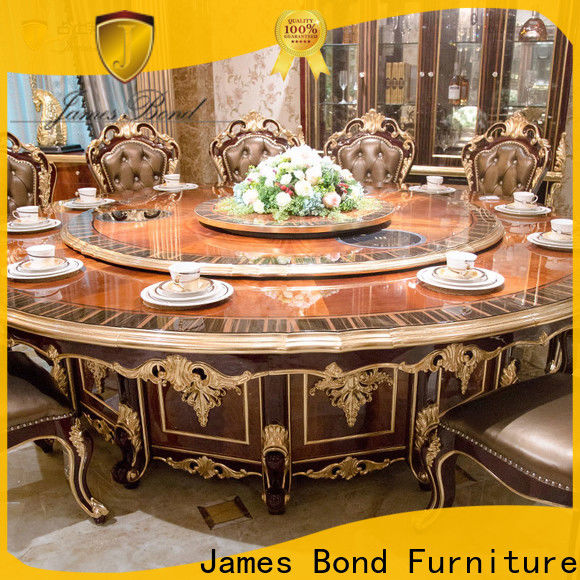 James Bond oval antique small dining table factory for hotel