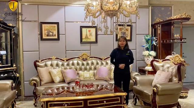 Luxury Classic Sofa Manufacturer - James Bond Furniture