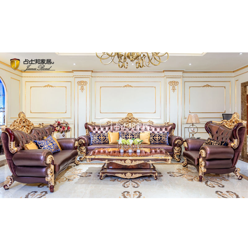 Best Quality Luxury classic sofa set A2818 James Bond Furniture Factory