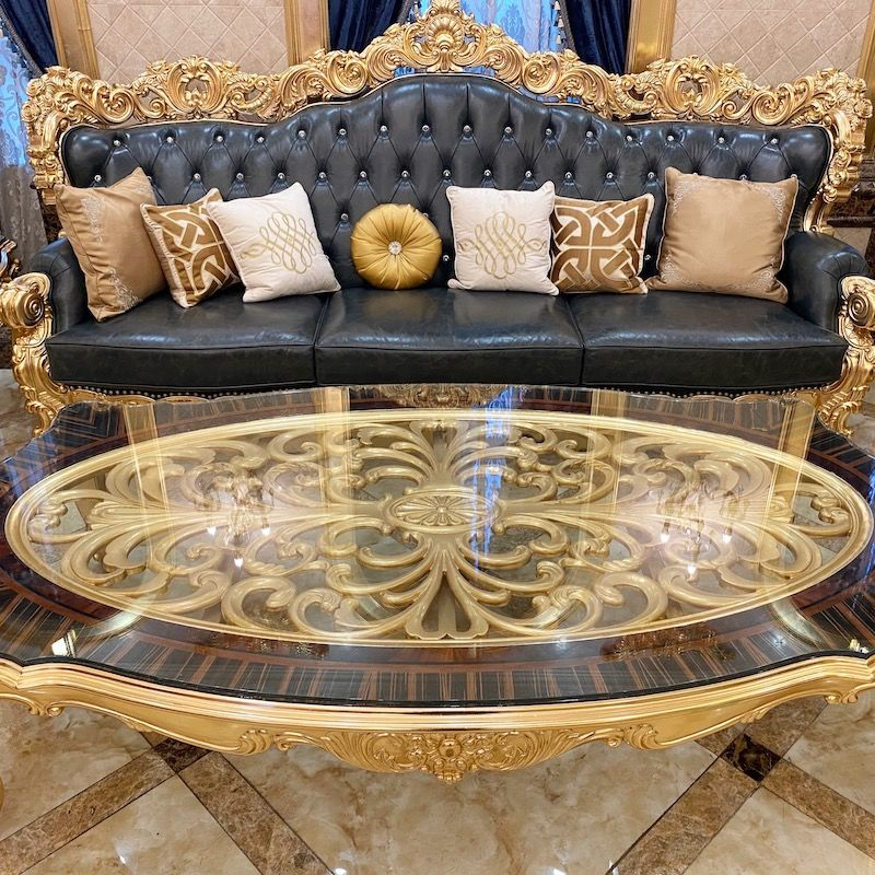 Best Quality Italian classic sofa A2817 James Bond furniture Factory