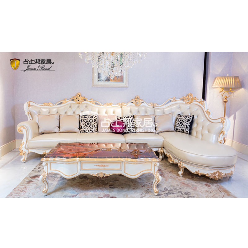 James Bond Furniture luxury classic corner sofa A2823