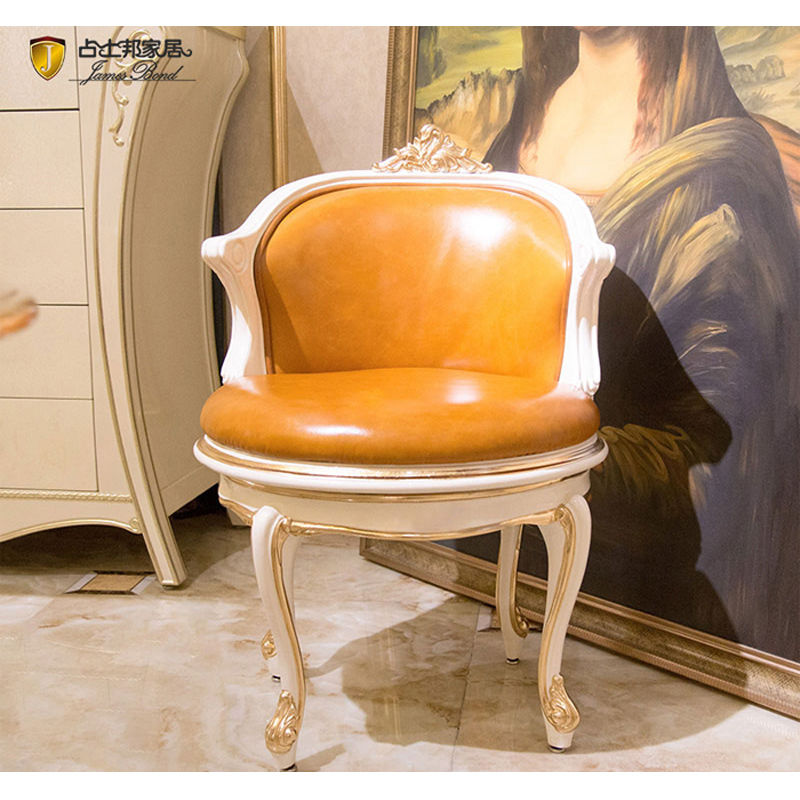 James Bond Classic leisure  chair 14k gold and solid wood JP607