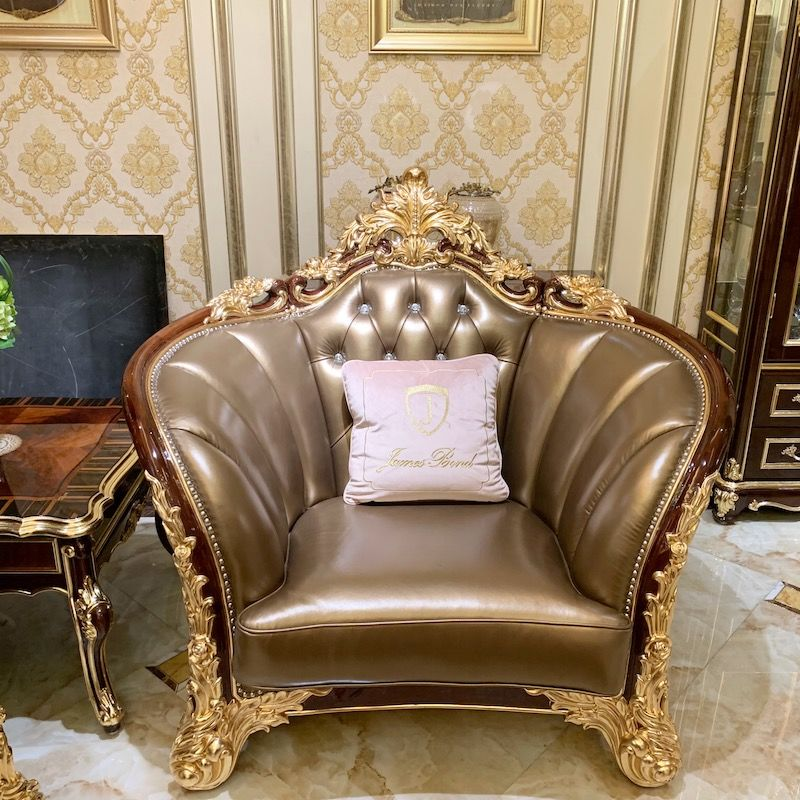 Classic furniture design luxury sofa set A2829