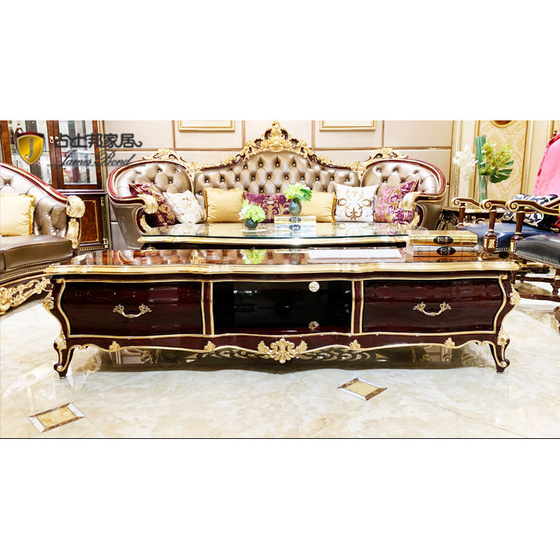 Classical Interior luxury TV cabinet JF03 from James Bond Furniture