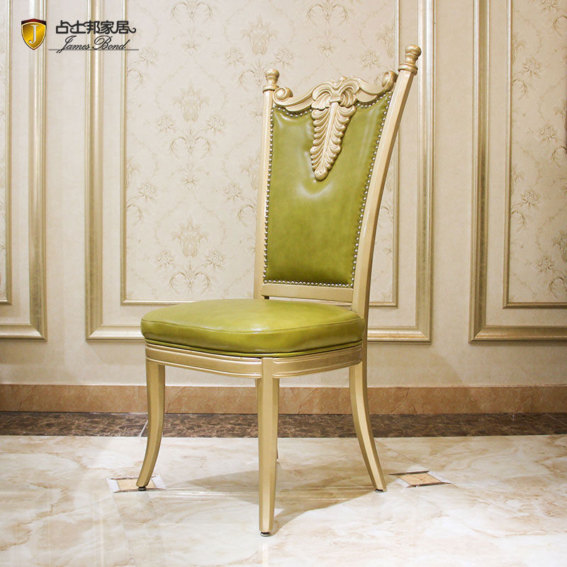 James Bond Classic dining chairs solid wood  green FH327