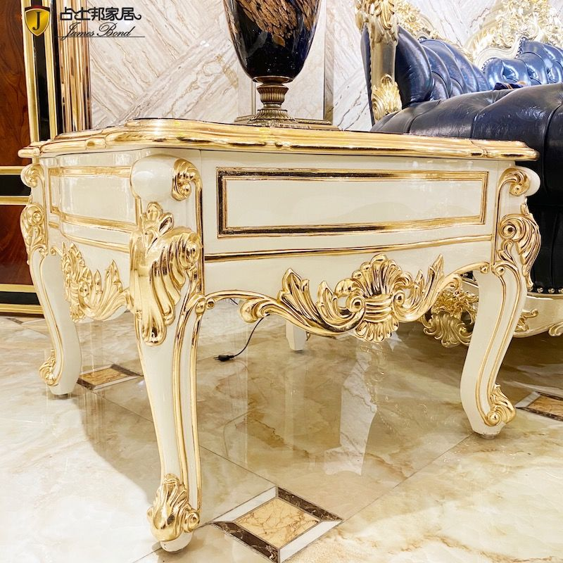 New classic furniture hand-carved classic coffee table JP688