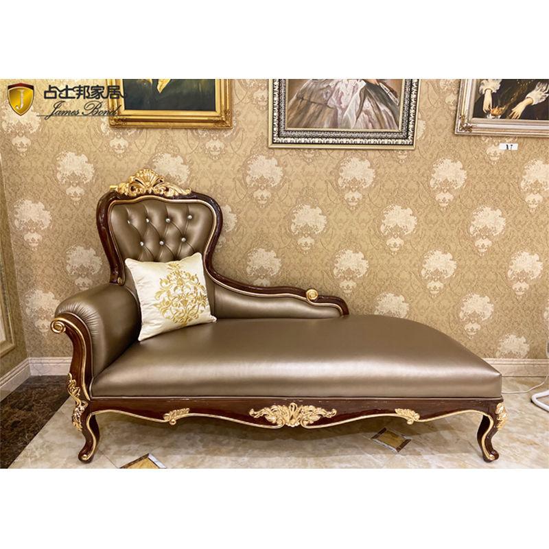 Luxury wood furniture James Bond Furniture Classic chaise longue E196