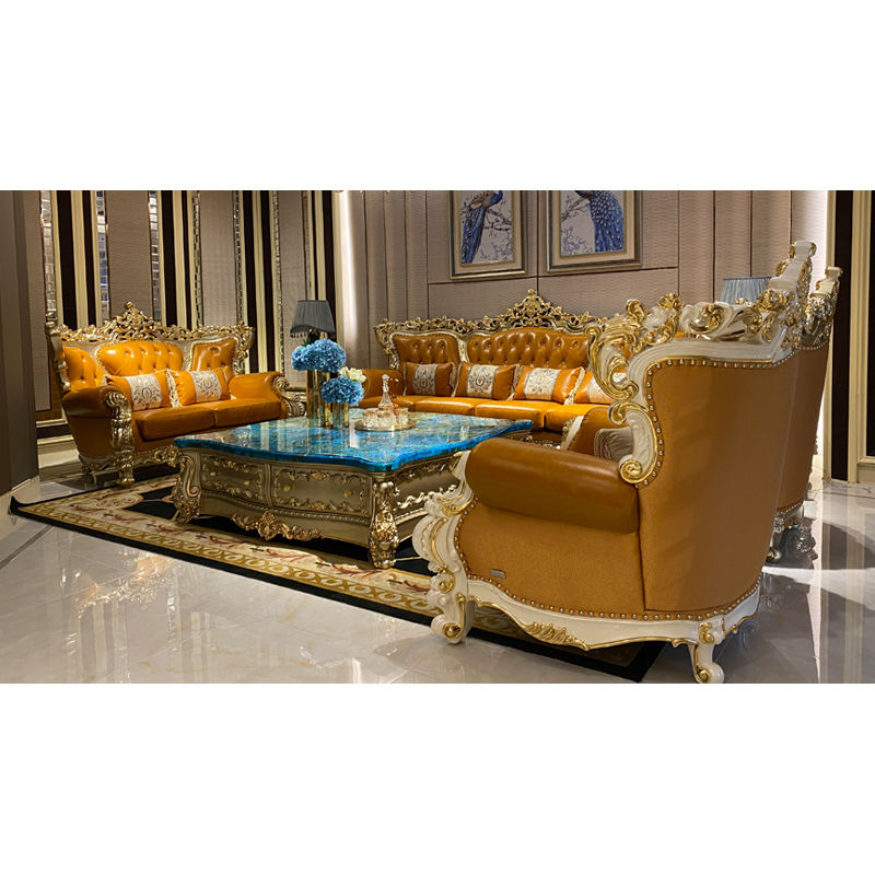 Italian living room from James Bond furniture DS076(F829)