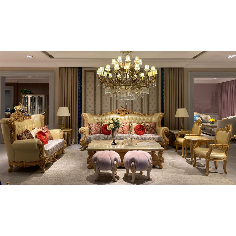 Italian living room furniture from James Bond furniture luxury series DS071(F898)