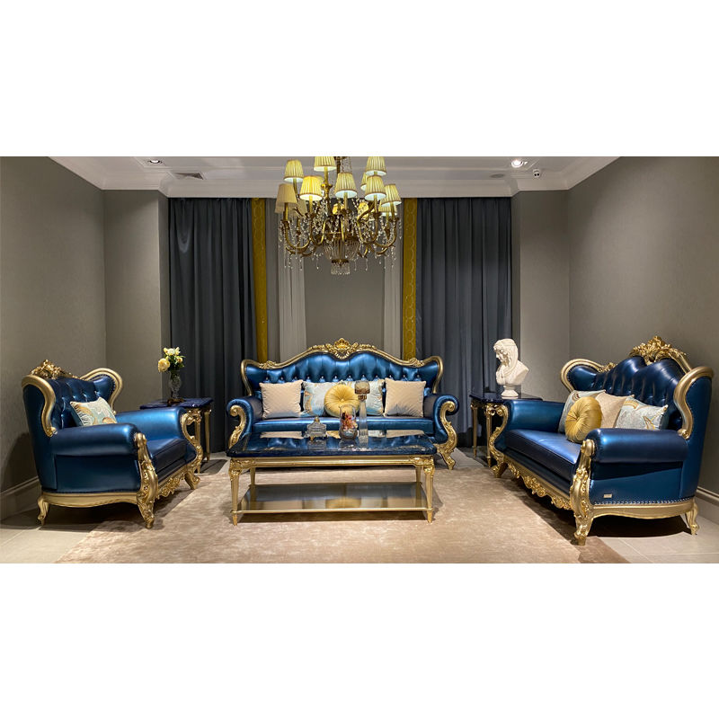 Classic sofa set DS-318 From James Bond furniture