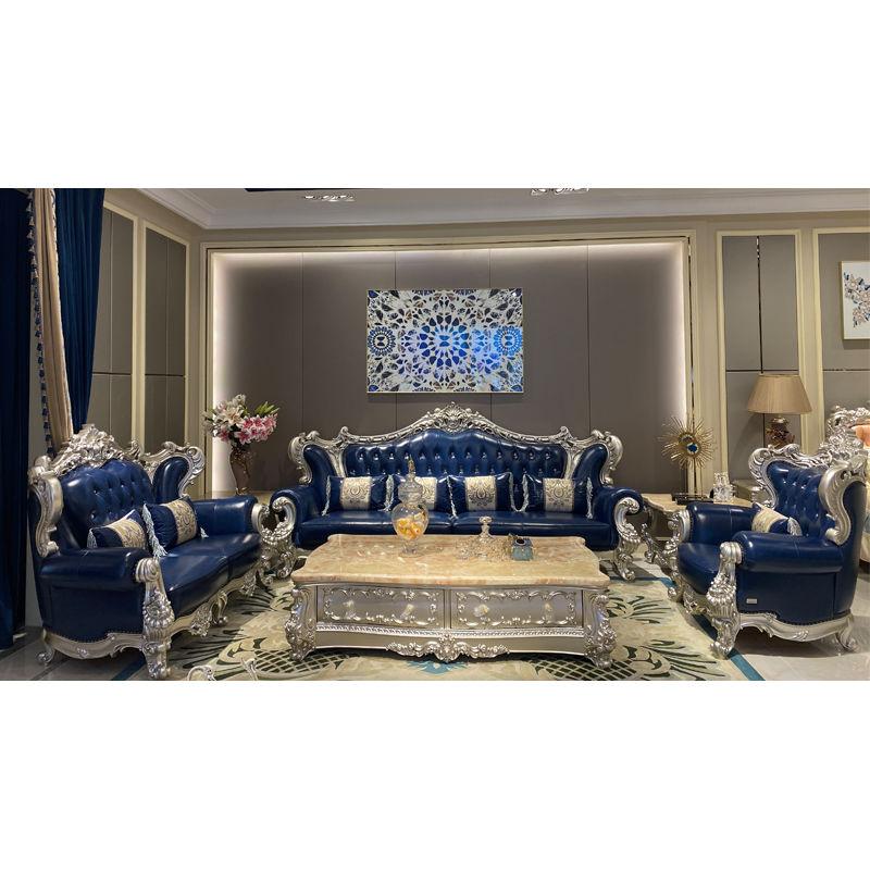 Classic Italian furniture high-quality classic sofa set DS077